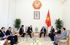 越南政府总理阮春福会见德国驻越大使贝格尔