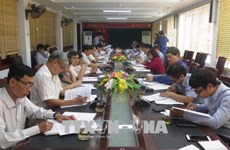 越南国会外事委员会监督代表团对奠边省进行访问