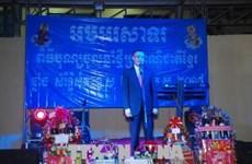 旅柬越南人喜迎柬埔寨传统节日