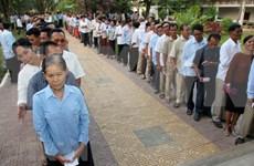 柬埔寨国家委员会要求呼吁人民抵制投票的人须立即停止这种违法行动