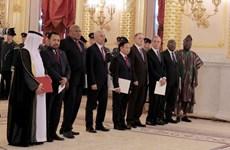 俄罗斯总统:俄越关系发展势头良好