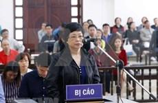 高级人民检察院提议维持一审法院对被告人珠氏秋俄作出的无期徒刑判决