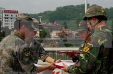 越南老街省与中国边防部队联合举行双边巡逻活动