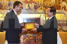 河内市与希腊埃泽萨市加强投资合作