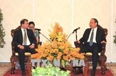 胡志明市领导会见古巴与各国人民友好协会主席