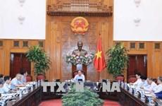 越南政府总理阮春福主持越南与欧盟贸易合作会议