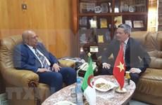 越南与阿尔及利亚加强地方间经贸合作