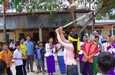 茶荣省高棉族同胞喜获丰收迎传统春节