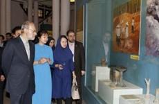 伊朗伊斯兰共和国议会议长圆满结束对越进行正式访问