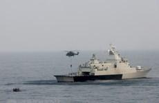 各国海岸警卫力量携手打击在东海非法捕鱼的行为