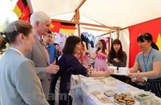 越南参加在柏林举行的2018年德利卡国际美食节