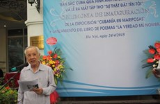 古巴英雄安东尼奥·格雷罗的诗集亮相河内