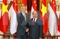 为越南与新加坡战略伙伴关系注入新动力