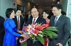 越南政府总理阮春福开始对新加坡进行正式访问