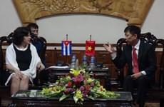 古巴驻越南大使造访广平省