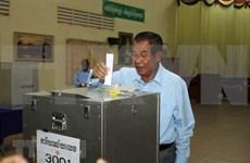 柬埔寨人民党和青年党注册参加第六届国会选举