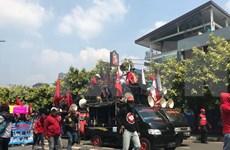 五·一国际劳动节:印尼劳工要求该国政府采取措施限制外籍劳工数量