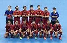 图表新闻:2018年亚洲女子五人制足球锦标赛:越南队击败中华台北队取得开门红