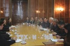 越南与罗马尼亚加强各个领域的合作