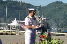 越南海军参加2018年科摩多多国海军联演