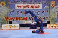 第一届越武道大奖赛在阿尔及利亚举行