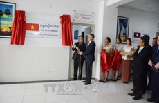 """柬埔寨大学""""越南之屋""""正式落成"""