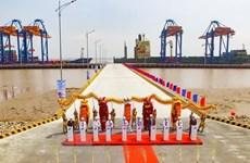 海防市南亭武深水港正式投入运营