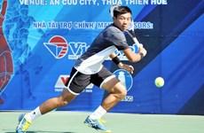 2018年越南男网F2未来赛:李黄南2比1险胜韩国选手