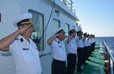 越南人民海军561号医院舰圆满结束2018年科莫多多国海军联演