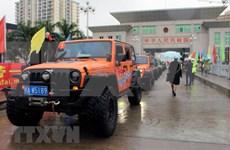 越中两国扩宽跨境自驾游线路