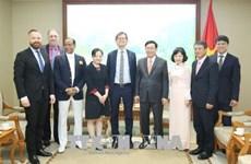 越南政府副总理王廷惠:经贸合作是越瑞关系的亮点