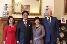 新西兰总督帕齐·雷迪支持在可持续发展领域与越南加强合作