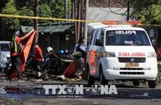 印尼东爪哇省警察局又遭袭致多名警察受伤