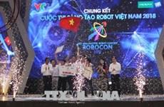 2018年越南机器人大赛总决赛:雒红大学LH-ATM队获冠军