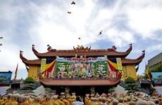 2018年佛诞大典:越南祖国阵线中央委员会主席陈青敏向国内外佛教信徒致贺信