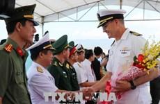 """美国海军医疗舰""""仁慈号"""" 抵达越南芽庄港开始《2018年太平洋伙伴计划》"""