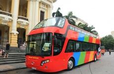 首都河内城市双层观光巴车将于5月底开通