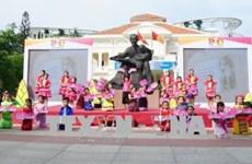 越南各地纷纷举行胡志明主席诞辰128周年纪念活动