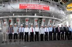 台塑河静钢铁厂二号高炉正式投入试运行