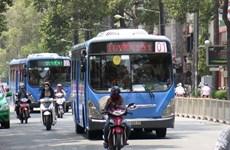 自7月1日起河内市将试点运行使用压缩天然气的公交车