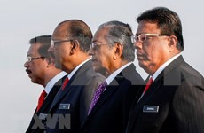 马来西亚内阁宣誓就职