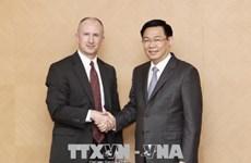 政府副总理王廷惠:经贸合作是越美关系中的核心之一