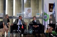 胡志明市市委书记阮善仁会见以色列特拉维夫市长罗恩·胡尔代