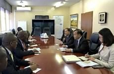 博茨瓦纳希望与越南促进农业、信息技术和卫生领域的合作