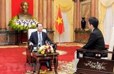 国家主席陈大光:越南支持日本发挥积极作用  为地区和平稳定与发展做出贡献