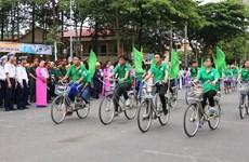 越南举行集会响应国家环境卫生周和世界环境日