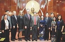 加强与美国合作关系是芹苴市的重要任务