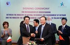 越意将在环境保护和应对气候变化等领域促进双边合作