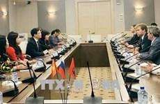 宣光省代表团对俄罗斯进行工作访问