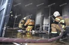 俄罗斯喀山市购物中心发生重大火灾 越南人商户损失严重